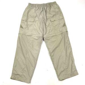 Columbia Convertible Fishing Pants Shorts Sz L